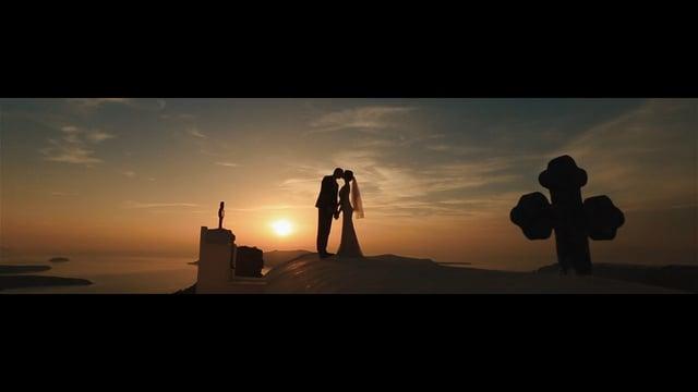 Santorini Wedding Clip